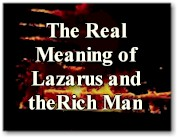 The Real Meaning of Lazarus and the Rich Man