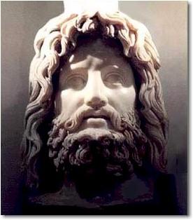مجسمه ی سر زئوس