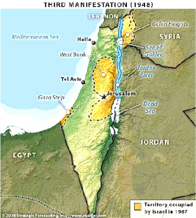 The Geopolitics Of Israel Ancient And Modern - Map of ancient egypt kush and israel